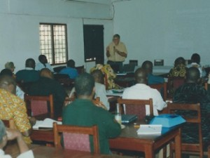 Training session in the Central African Republic